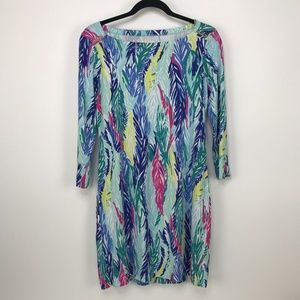 Lily Pulitzer Dress Multi Color Bright Pattern